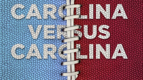 North Carolina vs. South Carolina Football