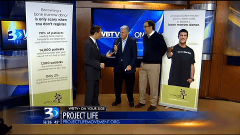 Project Life Movement on WBTV