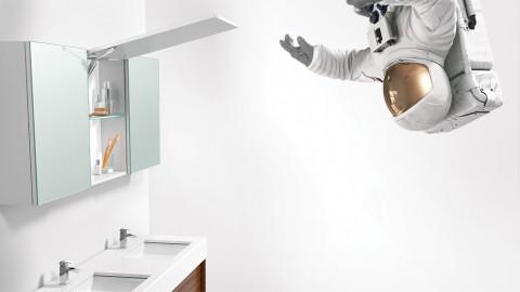 Blum Astronaut Print Ad