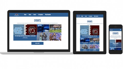 Charlotte Sports Foundation website