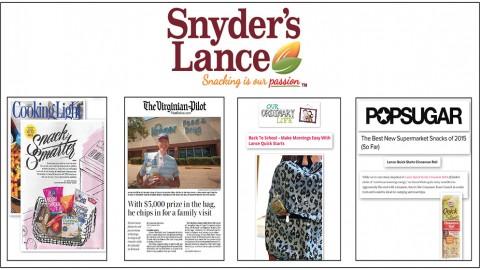 Snyders-Lance Media Coverage