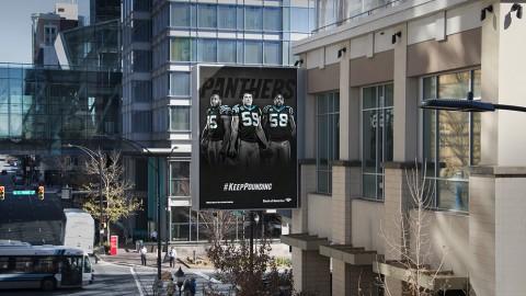 Carolina Panthers Keep Pounding Digital Banner