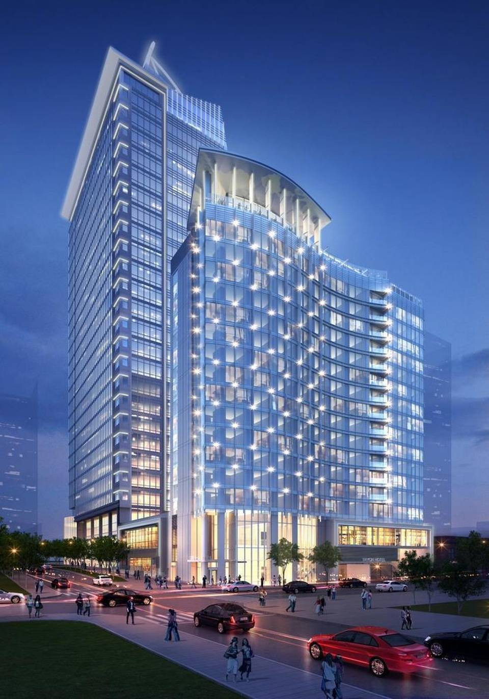 300 South Tryon Rendering