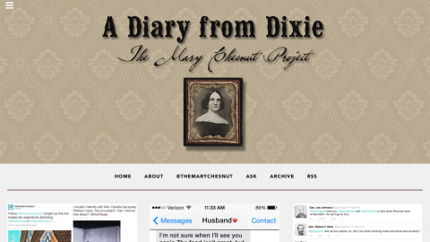 The Mary Chesnut Project on Tumblr