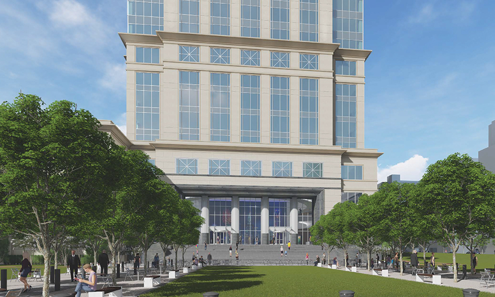 Legacy Union Plaza Rendering